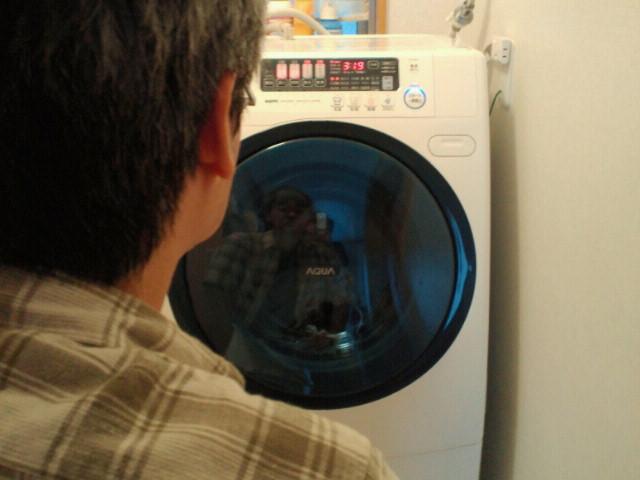 新しい洗濯機、きた♪